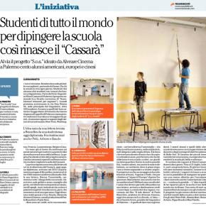 """RASSEGNA/ """"Studenti di tutto il mondo per dipingere la scuola"""""""