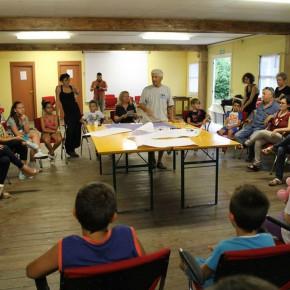 S.O.S. Scuola a Pagliare di Sassa (L'Aquila) - Primi due giorni