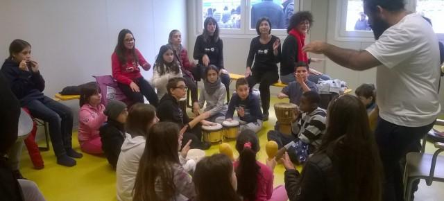 Il Progetto S.O.S. Scuola ad Arquata del Tronto. Laboratori creativi per una rinascita scolastica