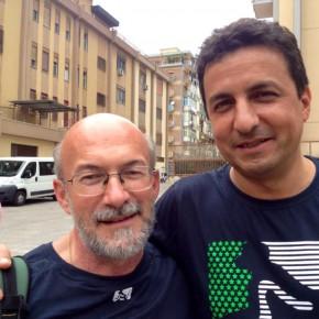 Il docente Martini e il sottosegretario del Miur Reggi