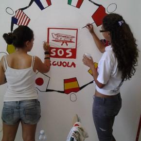 FOTO RACCONTO/L'8° giorno di S.O.S. Scuola
