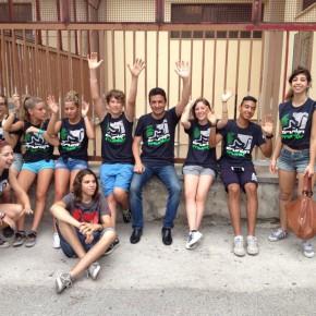 Studenti del Guggenheim con Reggi