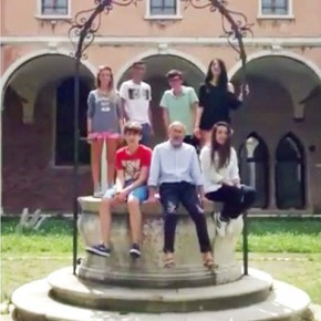 """VIDEO/Liceo Guggenheim di Venezia: """"Palermo arriviamo"""""""
