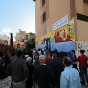 Rassegna/ A Palermo il murale di S.O.S. Scuola per Cassarà e Antiochia