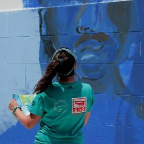 """Verso il  #23Maggio, l'artista Polizzi: """"Così è nato il murale per Cassarà e Antiochia"""""""