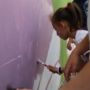 RASSEGNA/San Giovanni a Teduccio, uno street artist a scuola per restituire la natura ai bambini